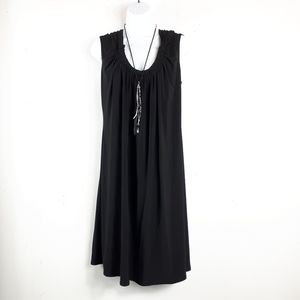 Bandolino Black Cap Sleeve Casual Dress